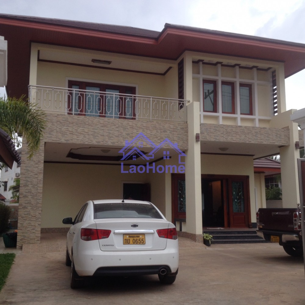 Huge house - modern lao style - LaoHome Real Estate Laos