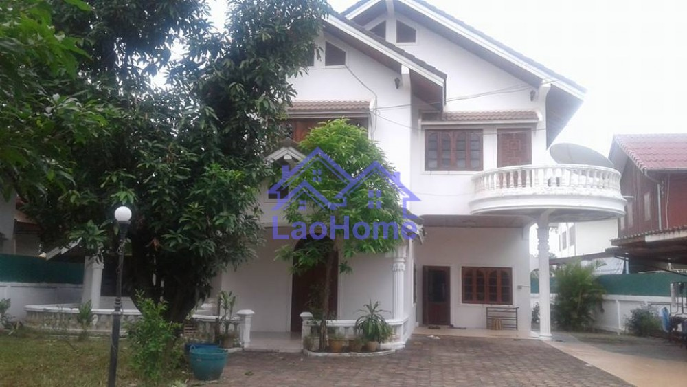 Nice Two Story House Laohome Real Estate Laos