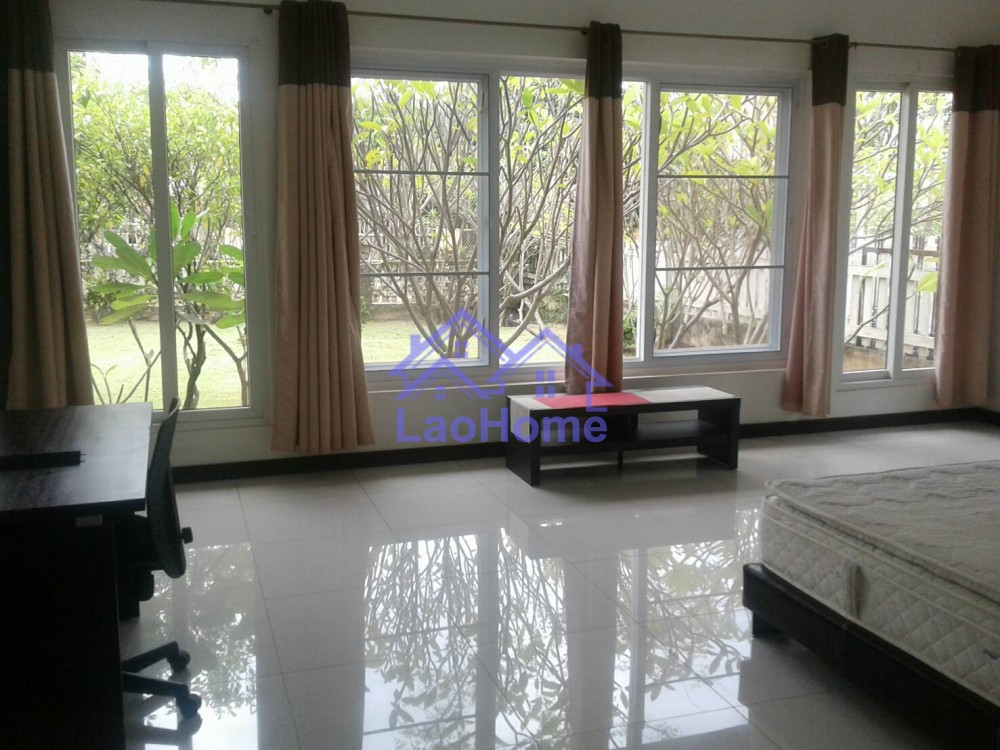 ID: 1264 - Modern villa house for with garden and the trees for rent