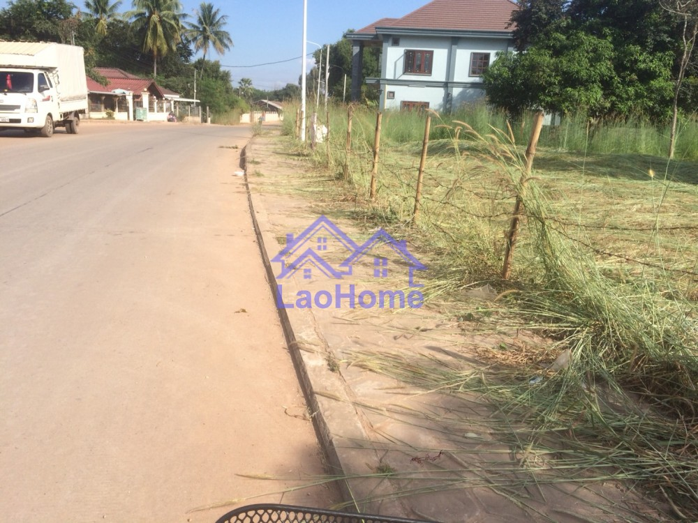 ID: 1280 - Land for sale close the concrete road
