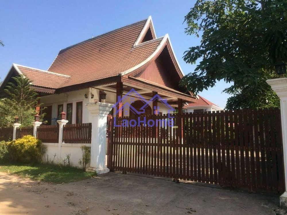 Modern Lao style house with garden